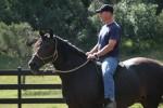 Pagosa CO - riding bareback on a MM